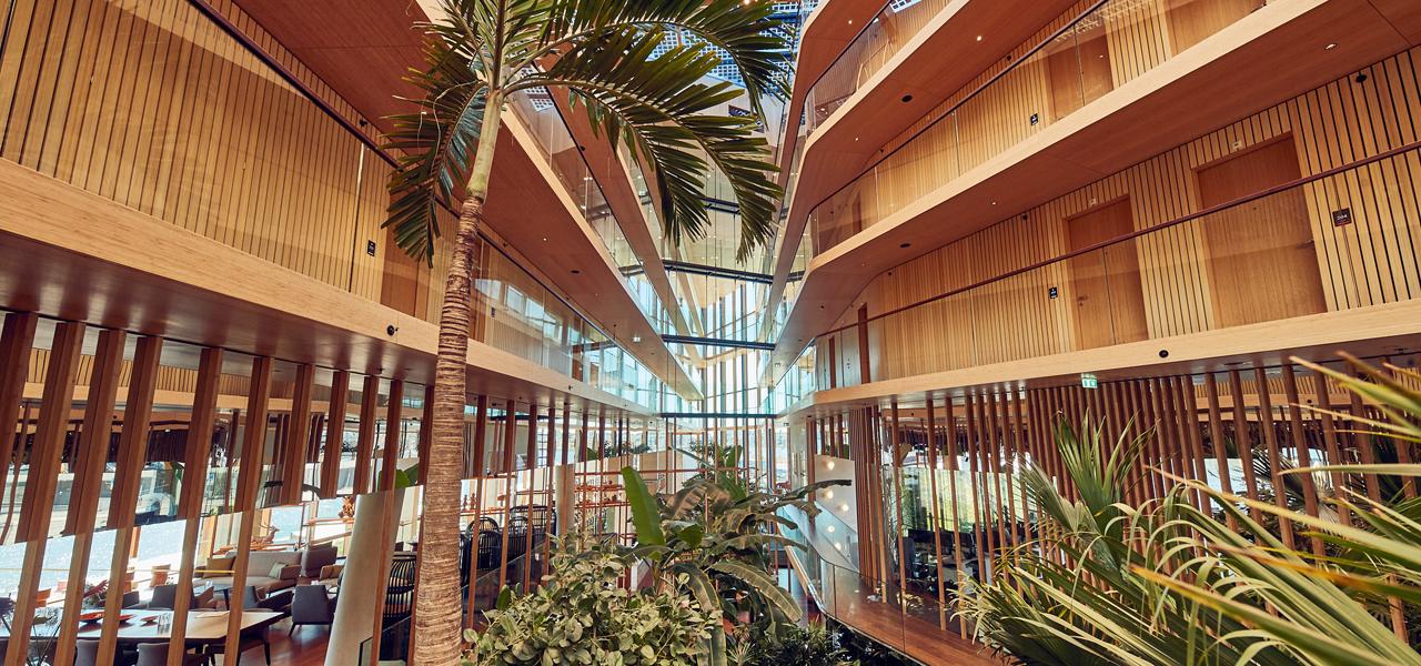 Indoor Garden Hotel Jakarta Amsterdam By Westcord